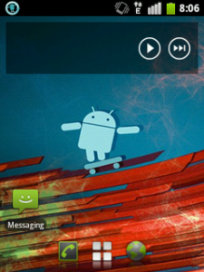 After: nice CyanogenMod7 icon