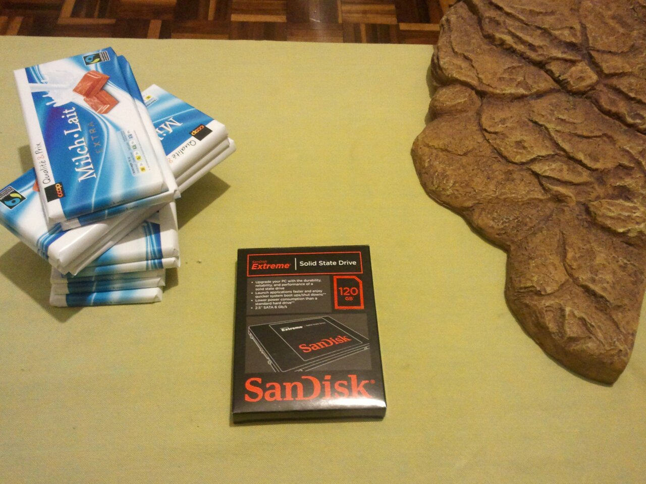 120 GB SanDisk Extreme SSD