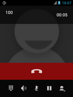 In-call UI on CM9