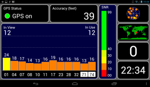 GPS locked on Tab 7 Plus CM10